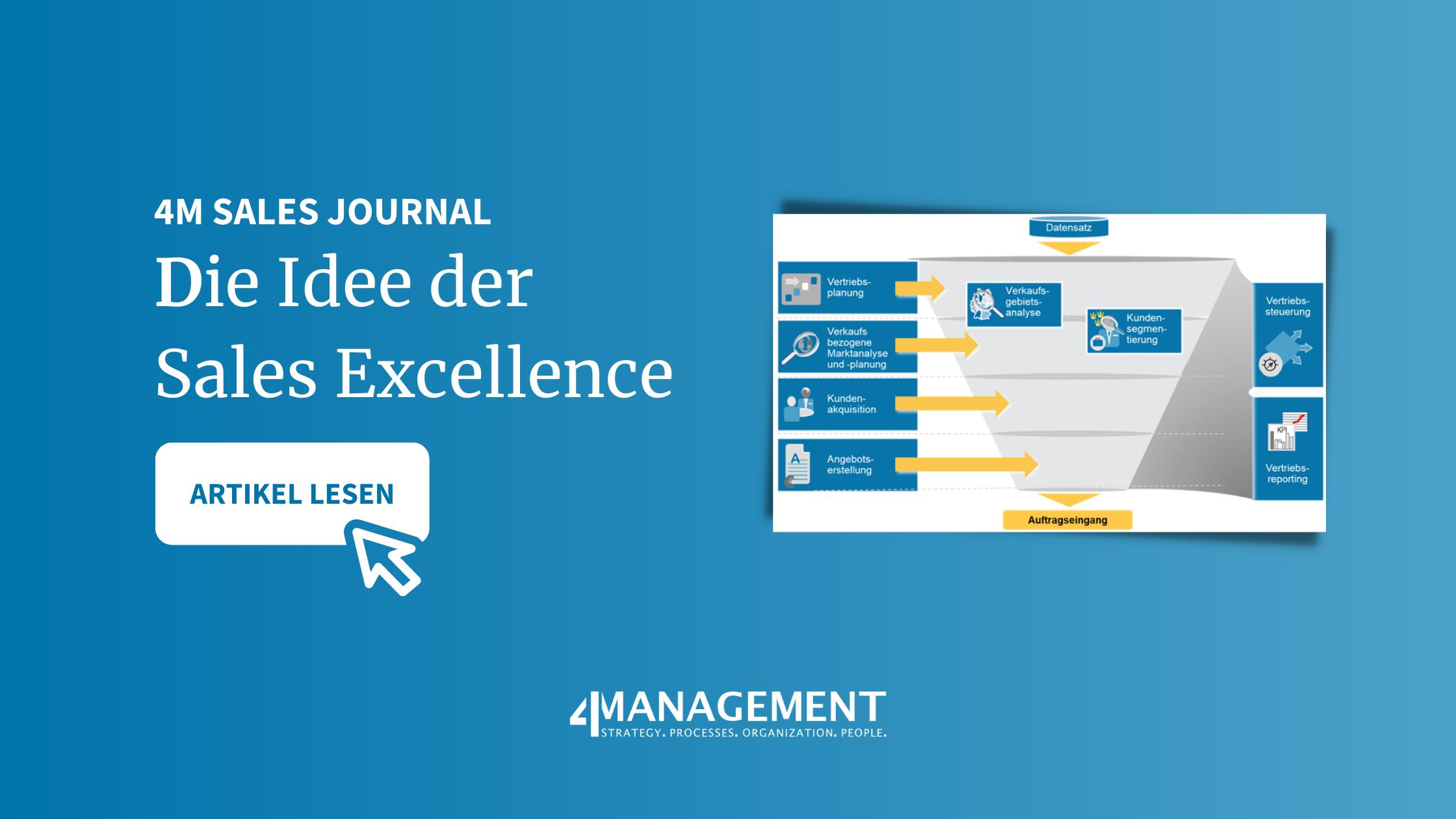 Eine Einführung in die Idee der Sales Excellence